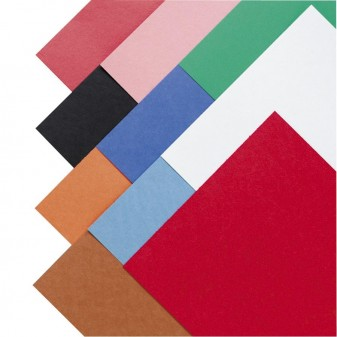 SUNWORKS Construction Paper,  58 Lbs.,9 X 12, 50 Sheets (Set of 4)