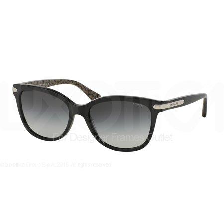 91ac545681 COACH Sunglasses HC 8132 526111 Black Black Military 57MM - Walmart.com