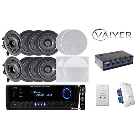 Vaiyerkits Home Theater Kit 8 In Wall In Ceiling 150