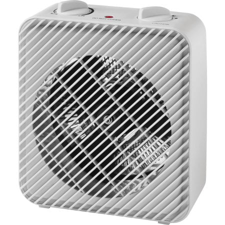 Pelonis 1500W 3-Speed Electric Fan-Forced Space Heater, PSH08F1AWW, White