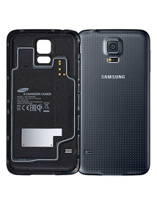 samsung wireless charging cover for samsung galaxy s5 (black