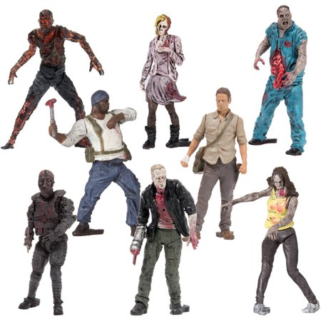 McFarlane Toys' The Walking Dead Construction Blind Bag Figures, Series
