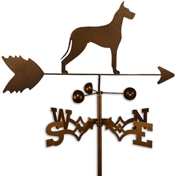 Swen Products Inc Handmade Great Dane Dog Copper Weathervane Walmart Com Walmart Com