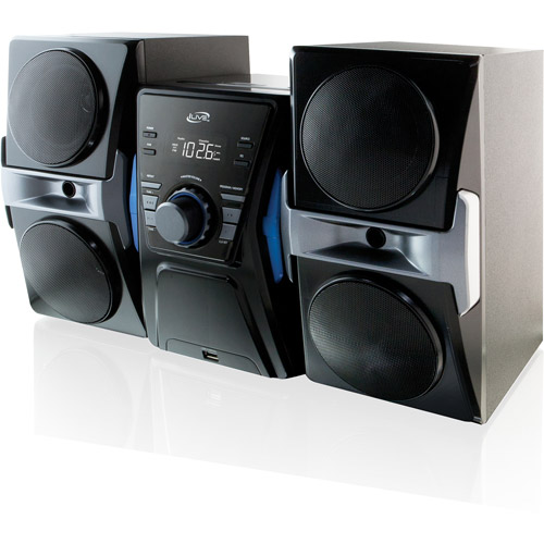 iLive iHB613B Home Music System with Bluetooth