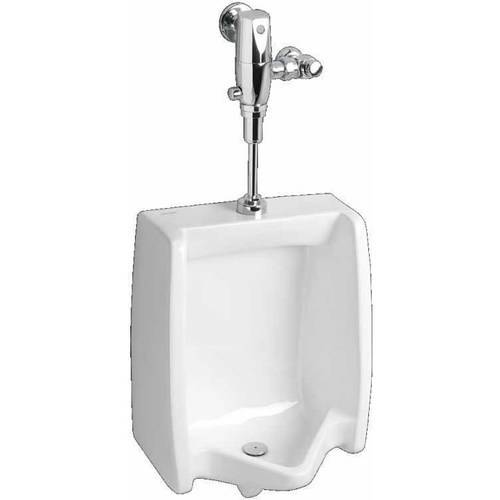 "American Standard 6515.001.020 Washbrook Flowise Urinal with 3/4"" Back Spud, White"