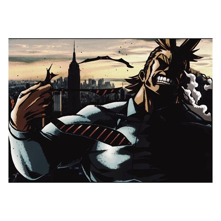 Fancyleo My Hero Academy Scroll Painting Anime Japanese Wall Poster Canvas Poster Home Art Decoration