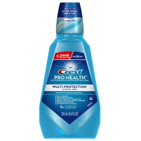 - Crest Pro-Health Oral Rinse, Refreshing Clean Mint 250 mL (Pack of 2)
