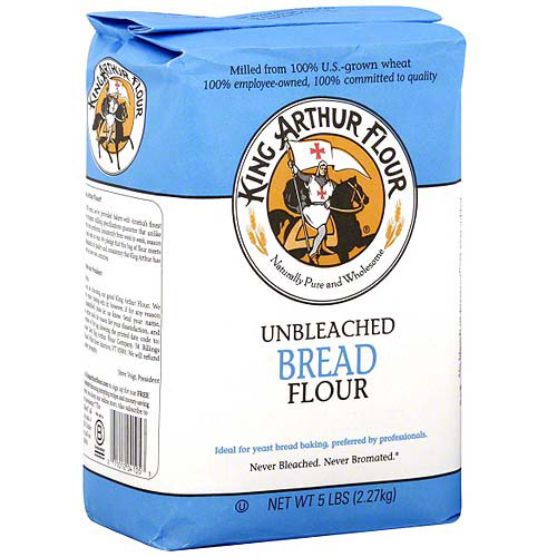 King Arthur Flour Bread Flour, 5 lb (Pack of 8)