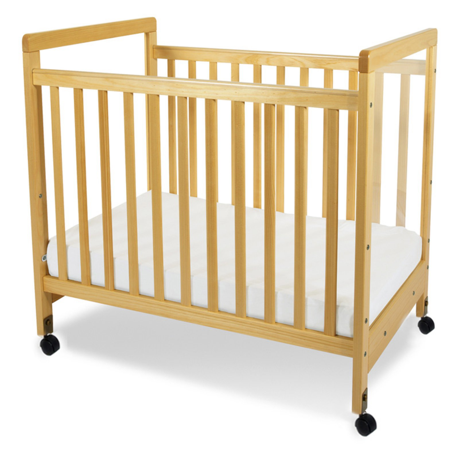 Foundations SafetyCraft Clearview Compact Crib