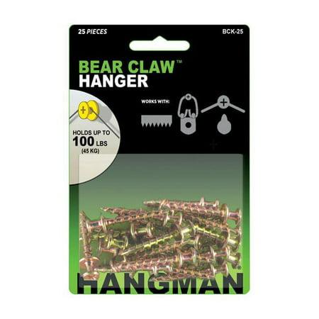 Hangman Heavy Duty Double Headed Hanger 25 each