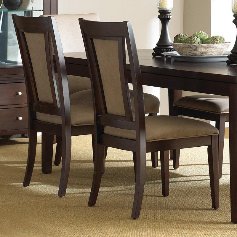 Steve Silver Wilson Side Dining Chairs - Merlot Cherry - Set of 2