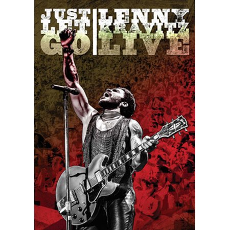Just Let Go Lenny Kravitz Live (DVD) (Lenny Kravitz Best Of)