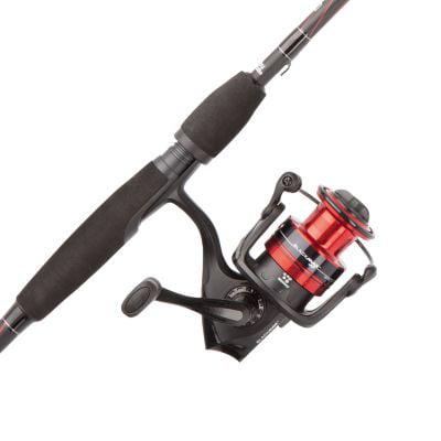 Abu Garcia Black Max Spinning Reel and Fishing Rod Combo thebookongonefishing