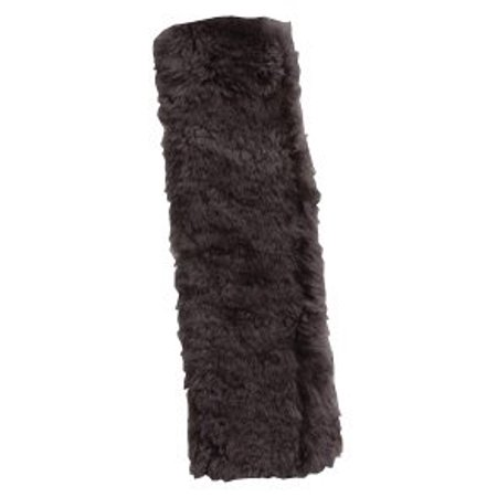 Sheepskin Seat Belt Shoulder Pad-Grey, Provides comfort and helps relieve chafing By Auto (Best Way To Relieve Chafing)