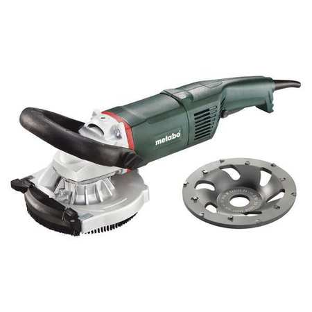 Concrete Grinder,w/PCD Cup Wheel,5 in. METABO RS17-125