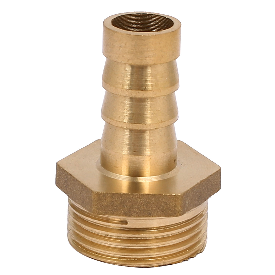 3/4BSP Male Thread 14mm Dia Straight Hose Barb Plug Pipe Connector Joint Fitting