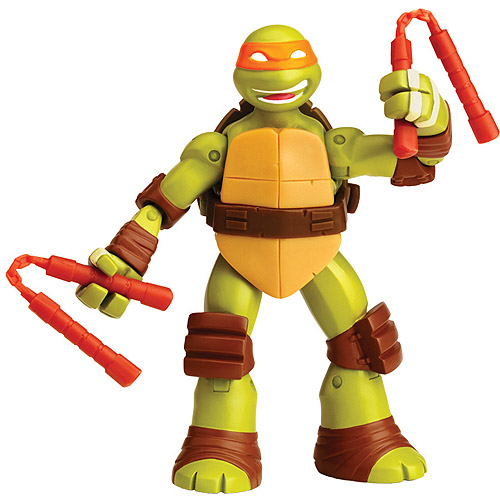 Teenage Mutant Ninja Turtles Battle Shell Michelangelo Action Figure