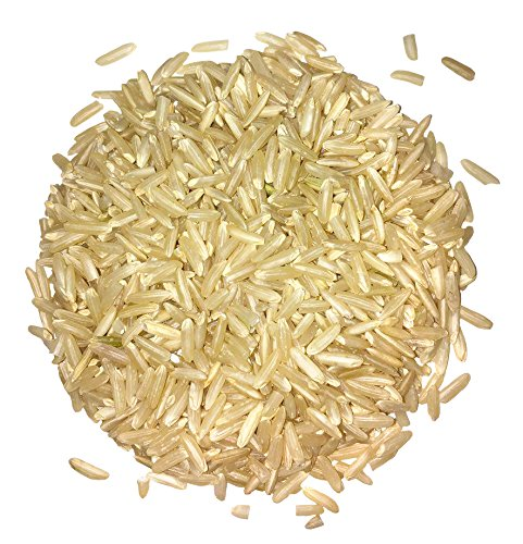 Certified Organic Raw Brown Basmati Rice (Non-GMO, Origin...