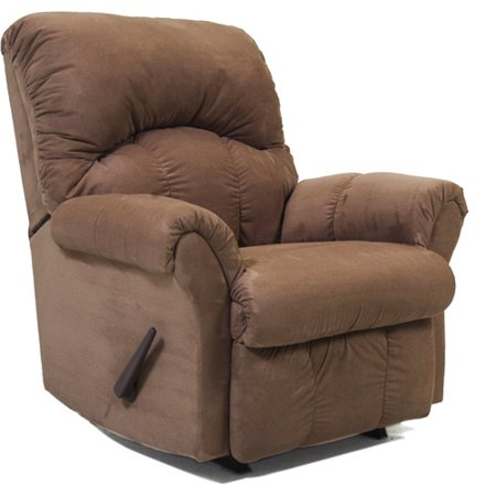 comfort eze jackson rocker recliner fern microfiber