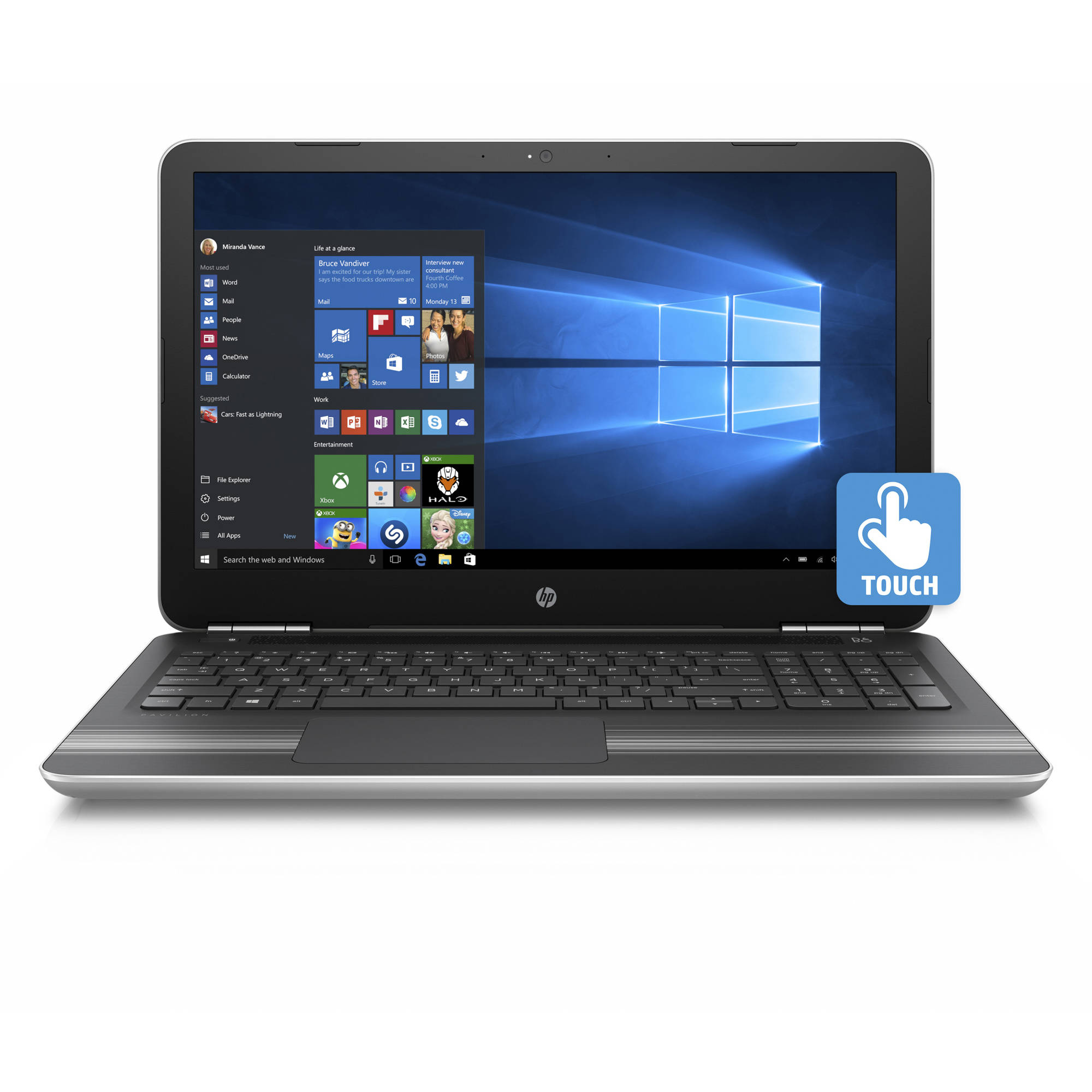 "HP Pavilion 15-Au000Nr 15.6"" Laptop, Touchscreen, Windows..."