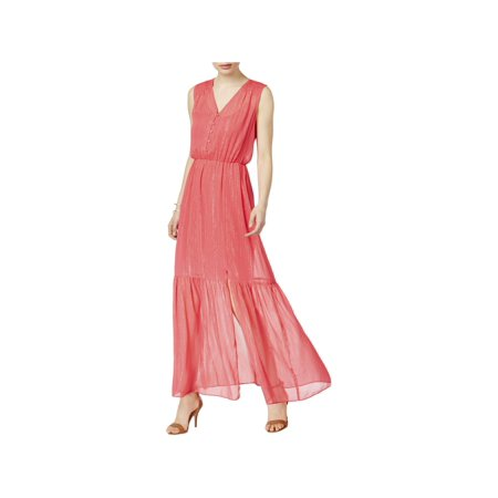 Eci New York Eci New York Womens Spring Full Length Maxi Dress