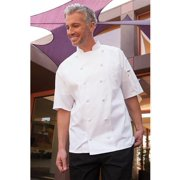 Uncommon Threads 0480-2508 Aruba Chef Coat in White - 4XLarge