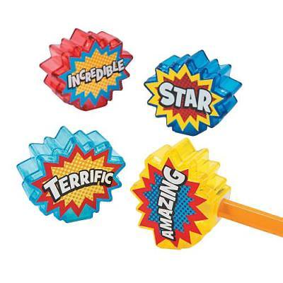IN-13736494 Superhero Pencil Sharpeners Per Dozen