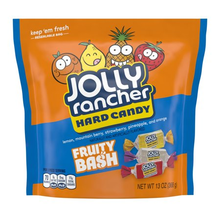 Jolly Rancher, Fruity Bash Assortment Hard Candy, 13 Oz. (Grape Jolly Rancher Hard Candy)