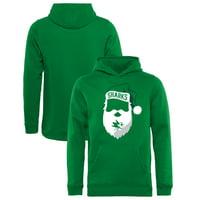 San Jose Sharks Fanatics Branded Youth Jolly Pullover Hoodie - Kelly Green