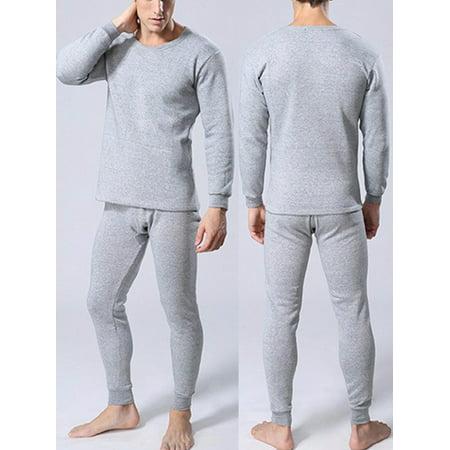 luxur thermal underwear set winter thicken long johns. Black Bedroom Furniture Sets. Home Design Ideas