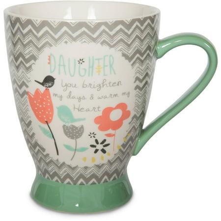 Daughter Gift (Pavilion Gift Company 74045 Daughter Ceramic Mug, 16 oz., 5