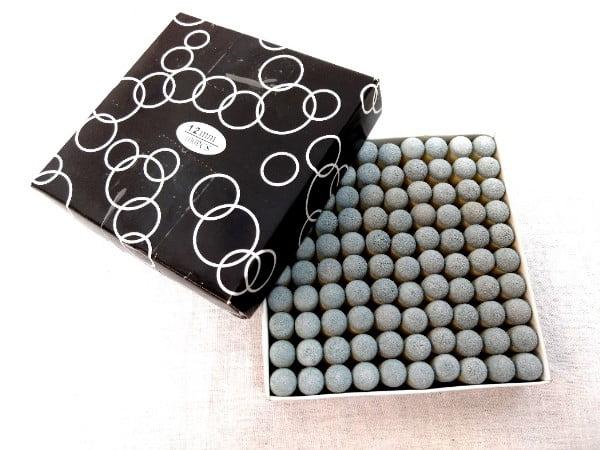 12mm Slip-on Billiard Pool Cue Tips Plastic Ferrules Replacements 10 Pack by RetroArcade.us