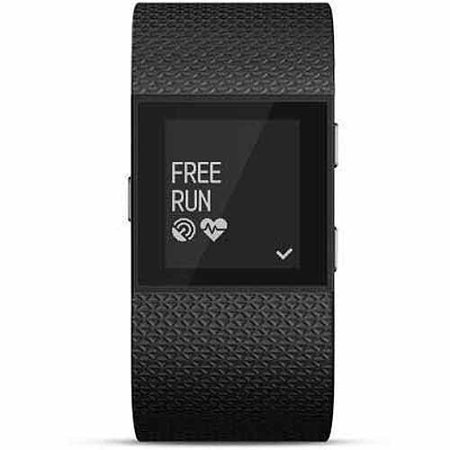 Refurbished Fitbit FB501BKS Surge Small-Size Fitness Watch with Heart Rate Monitor - (Fitbit Alta Activity Tracker Small Black Silver)