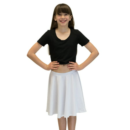 Vivian's Fashions Skirts - Girls, Cotton, Long, Circle (Royal Blue, - Cut Circle Skirt