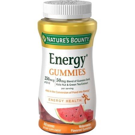 Nature's Bounty Energy Complex Gummies, 60 Ct
