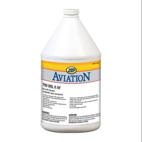 ZEP PROFESSIONAL 741624 Aircraft Cleaner, 1 gal., PK4