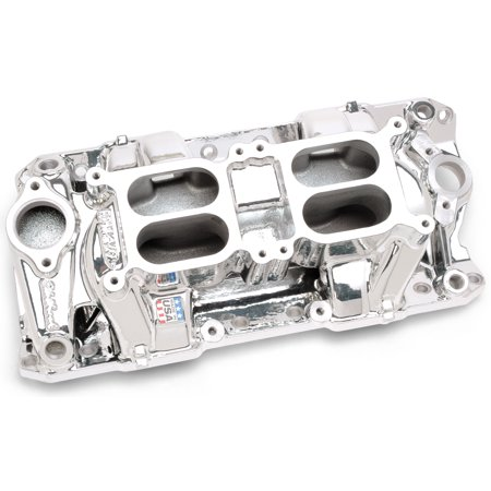 Air Gap Dual Quad Manifold - Edelbrock 75254 RPM Air Gap Dual-Quad Intake Manifold