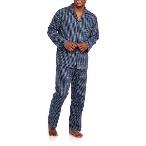 Hanes Big Men's Woven Pajama Set