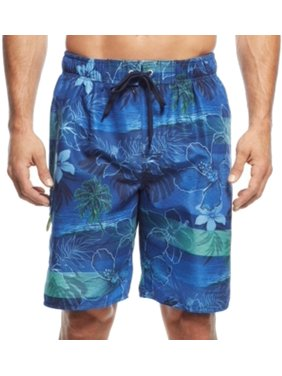 f4a627c086 Product Image Newport Blue NEW Blue Mens Size Small S Tide Print Drawstring  Trunks