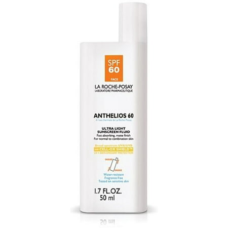 Laroche Posay Sun Protection Cream - La Roche Posay La Roche Posay Anthelios 60 Sunscreen Fluid, 1.7 oz