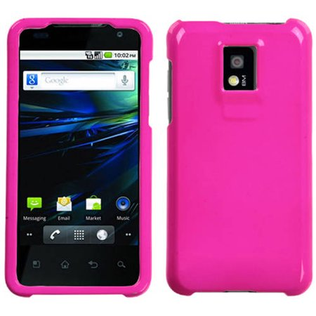 Shocking Cases (LG P999 G2X MyBat Protector Case, Solid Shocking Pink )