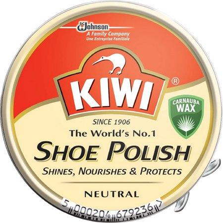 KIWI Shoe Polish, Neutral 1.125 oz (Pack of 2)