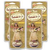 3-Pack Bahama & Co. Hula Girl - Pina Colada Air Freshener