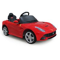 Vroom Rider Ferrari F12 Rastar 6V Battery Operated/Remote Controlled Ride-On, Red
