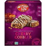 Enjoy Life Cherry Cobbler Bar, 6 oz, (Pack of 12)