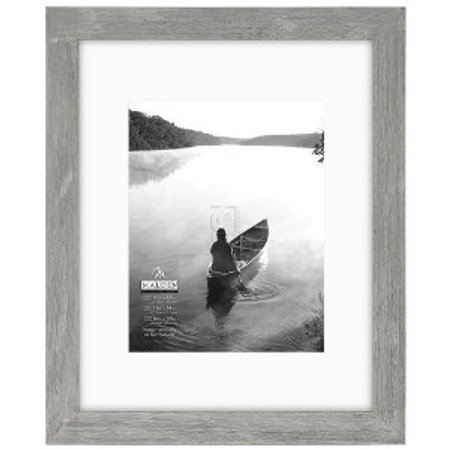 11x14 / 16x20 Gray Matted Picture Frame