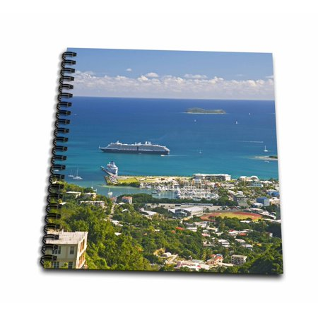 3dRose Holland America Cruise, The Zuiderdam, Caribbean-CA10 JRE0044 - Joe Restuccia III - Mini Notepad, 4 by 4-inch ()
