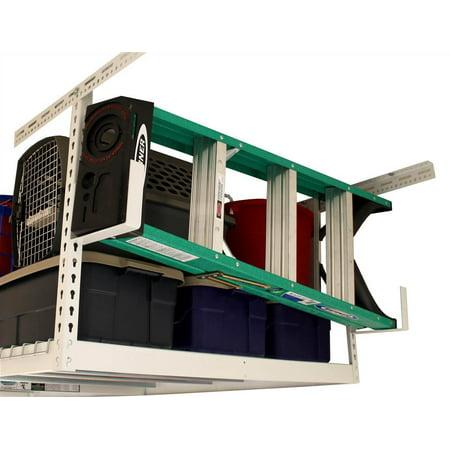 Utility Hooks For Garage Overhead Storage Rack Set Of 2 Hammertone