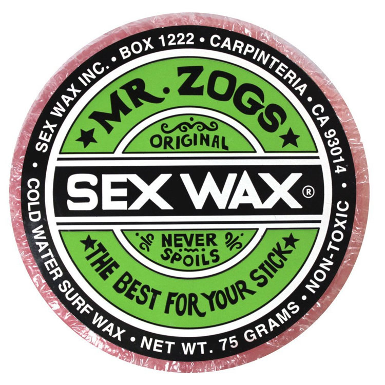 SEX WAX Mr Zogs OG COLD Light Red Strawberry Scented by