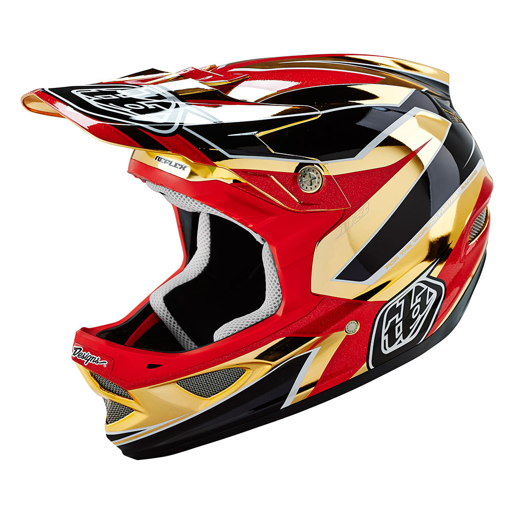 Troy Lee Designs Men's Reflex D3 Mountain Bike Helmet